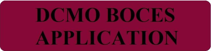 DCMO BOCES Employment Application