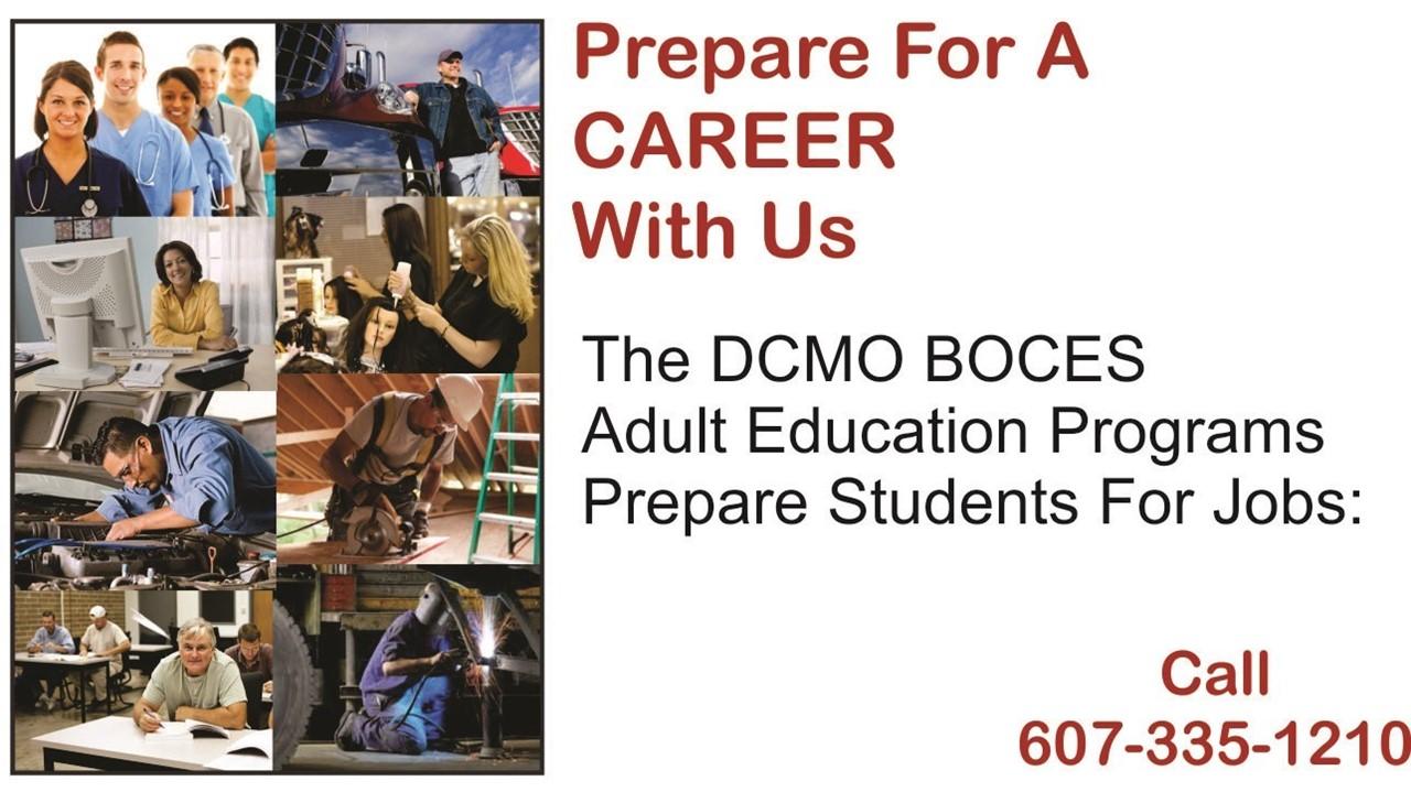 image of adult careers education
