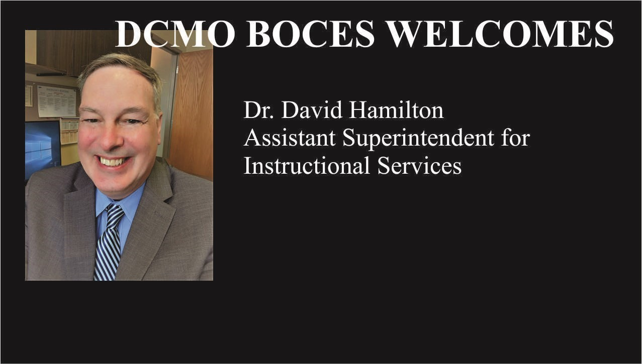 photo of Dr. hamilton and link to announcement