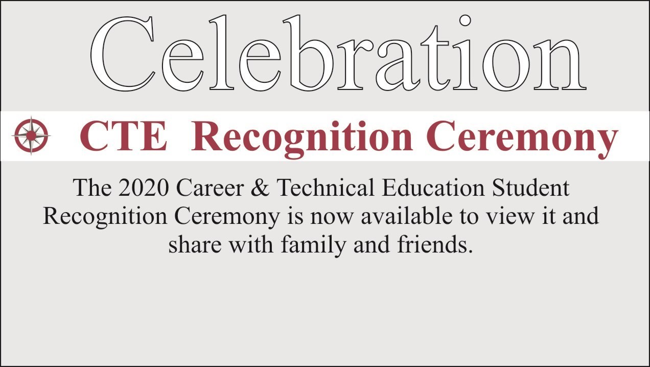 Text that says celebration and links the image to our virtual ceremonies