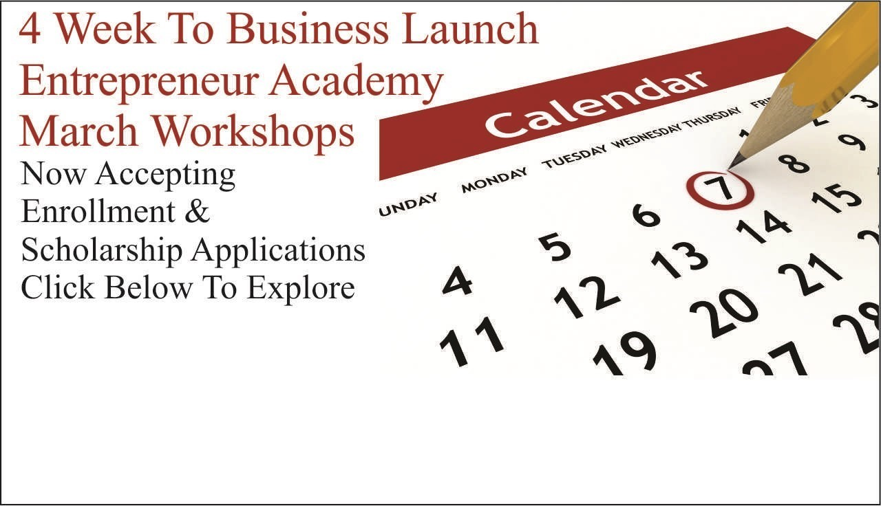 image of calendar with March workshop announcement