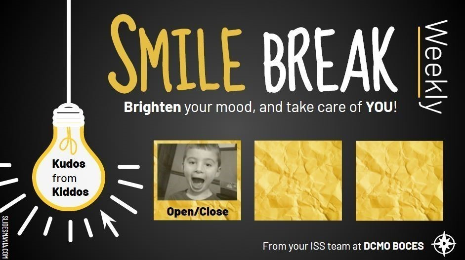 image of smile break with link to watch the presentation