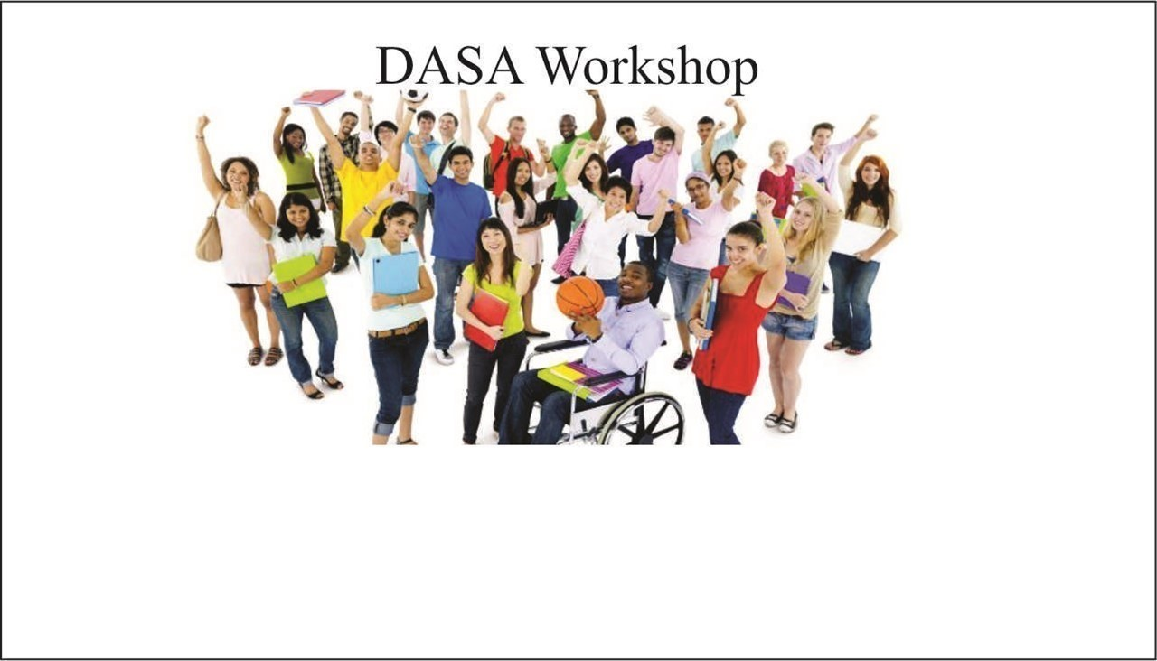 image of students and link to DASA Workshop announcement